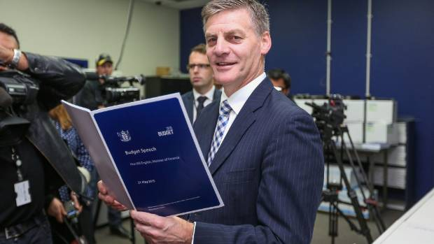It's the biggest day of the year for Finance Minister Bill English. Budget day has arrived.
