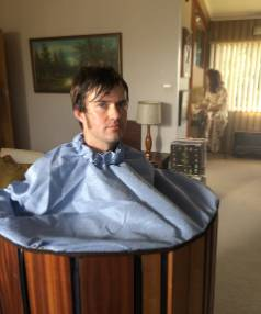 Dan Musgrove plays Lefty Munroe in Outrageous Fortune prequel Westside. Here he tries out a portable sauna which the ...