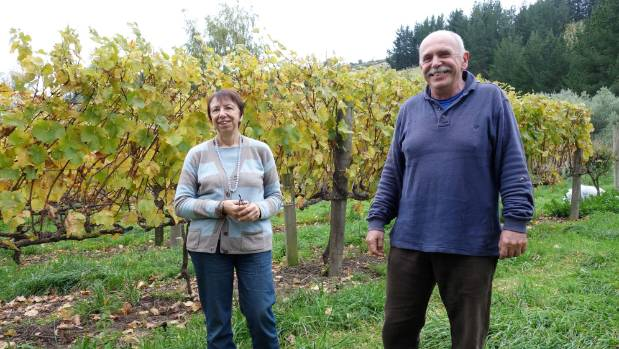 Wilma and Alessandro Laryn, own Cracroft Chase winery, which lies in a valley in the Port Hills of Christchurch.