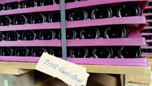 It will be some years before the 2013 Wood's Edge vintage will be offered for sale.