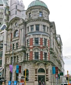 The Old Public Trust Building on Lambton Quay has been fully restored.