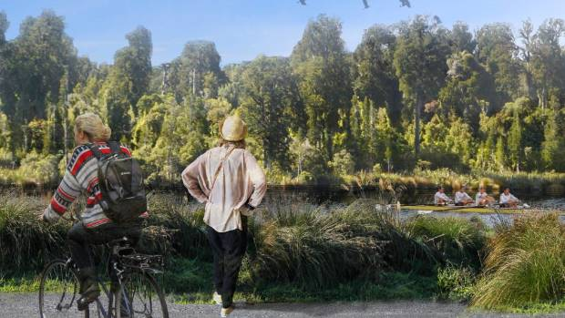 Christchurch community group Greening the Red Zone wants to turn the Avon River red zone into a native forest park and ...
