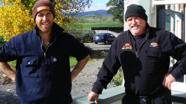 Angus (left) and Forbes Cameron, 2015 Steak of Origin champion farmers.