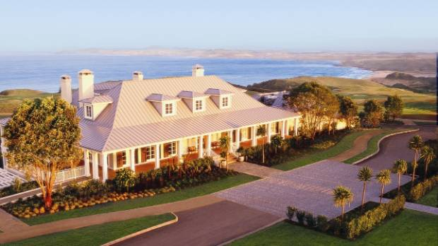 The lodge at Kauri Cliffs, Northland, which was ranked 60 on the Conde Nast top 100 hotels and resorts.
