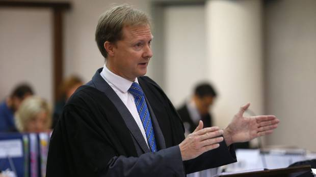 Lawyer Andrew Butler represented Seales in the High Court in Wellington.