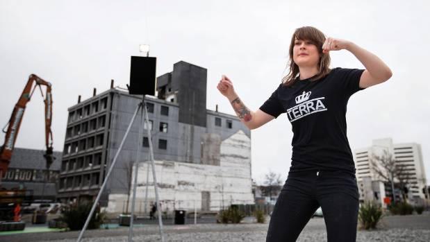 Nel Robinson, 22, has set up a non-profit business called Terra Street Dance to teach children the joys of dance.