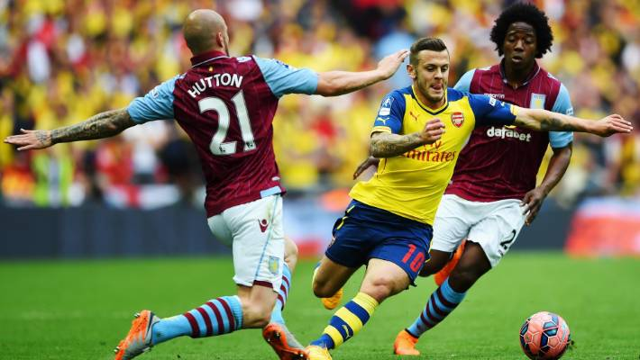 90856d2de0e Arsenal midfielder Jack Wilshere has rediscovered the form that earned him  comparisons with Spanish great Xavi