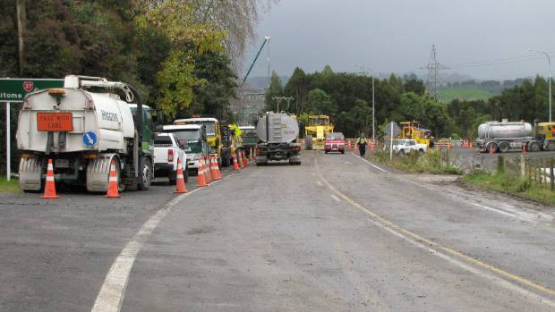 Work on trouble-spot SH37, a short 7.3km stretch of road from Waitomo to the intersection with SH3, is now complete.