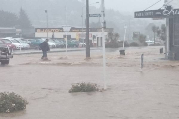 The flooding that caused havoc in Dunedin on Wednesday is considered a more than one in 100-year event.