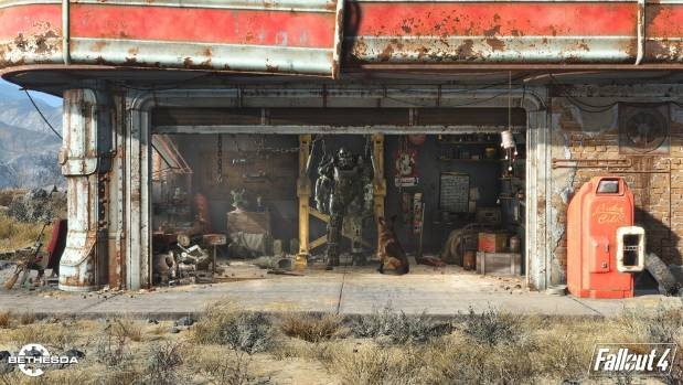 Bethesda's first screenshot from Fallout 4, which will be properly detailed at E3 next week.