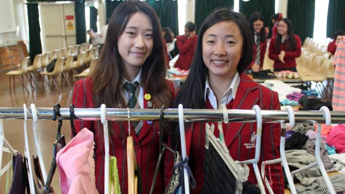 North Shore school gives clothing second life | Stuff co nz