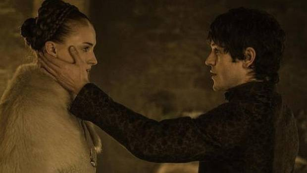 The scene that proved too much for some viewers: Ramsay and Sansa on their wedding night.