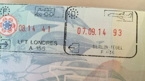 Travel To France Time Left On Passport