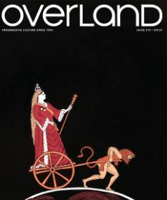 Overland 219: The New Zealand Issue Edited by Jacinda Woodhead, guest edited by Giovanni Tiso.