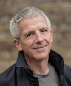 Author Patrick Gale.
