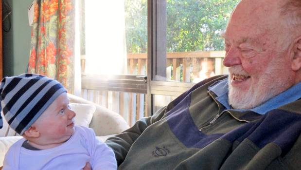 Cancer sufferer John Titchener shares a laugh with his grandson Drew. The terminally ill grandfather wants the choice to ...