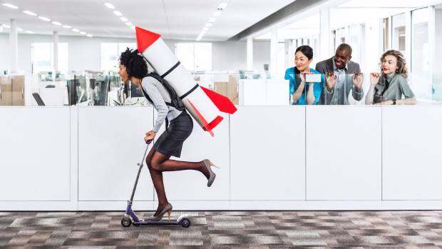 Contrived workplace fun could be counterproductive, according to an Auckland University study.