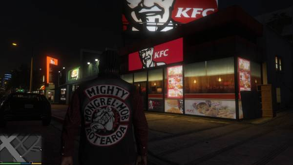 Grand Theft Auto V gets New Zealand modification, Mongrel