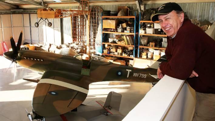 Rare $4 million Spitfire finds home in Blenheim | Stuff co nz