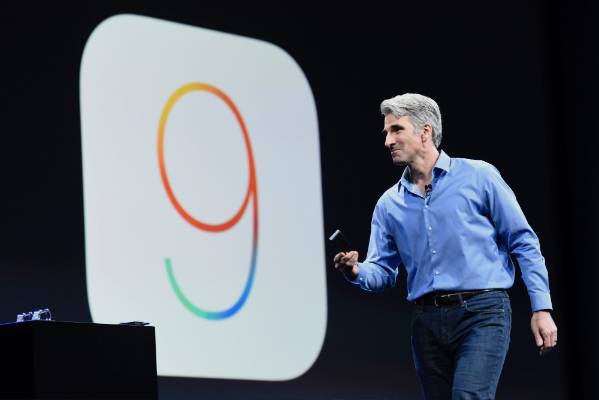 Craig Federighi talks about iOS 9 at the Apple World Wide Developers Conference.