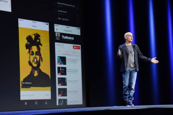 Co-founder of Beats Electronics Jimmy Iovine introduces Beats 1 for Apple Music, the company's new subscription music ...