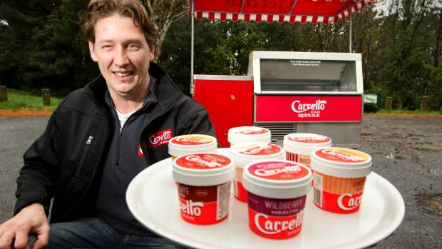 Carrello del Gelato founder Nathan Meyer is happy with the Wellington company's latest success.