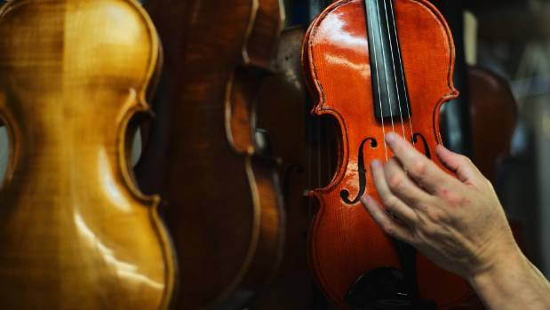 'Domestic violins': Woman wrecks 54 instruments made or collected by estranged husband