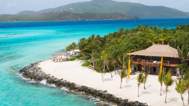 Branson spends half the year working from Necker island in the Caribbean.