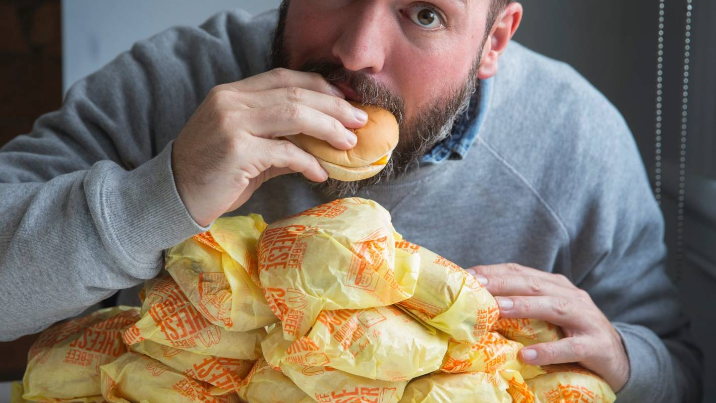 the 50burger challenge cheeseburger test coming to