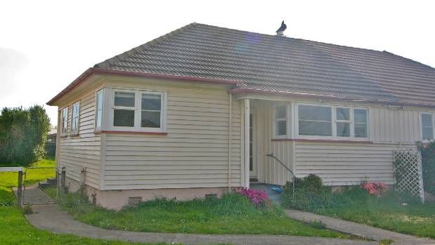 An Invercargill state house put up for sale in 2013.