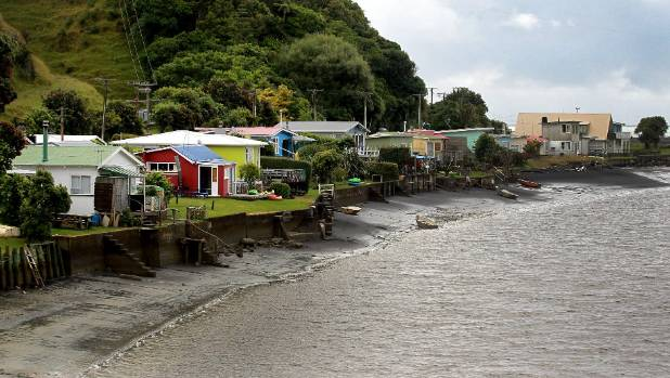 Visiting Tongaporutu is like taking a step back in time.