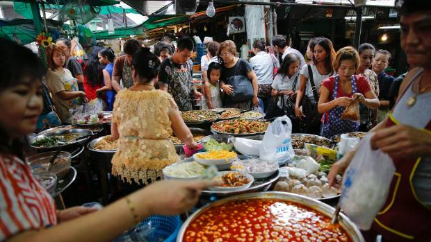 For retirees who aren't ready for the quiet life, a city like Bangkok has it all, including great street food.