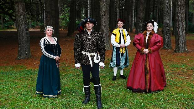 Many of the reenactors create elaborate back-stories for their characters.