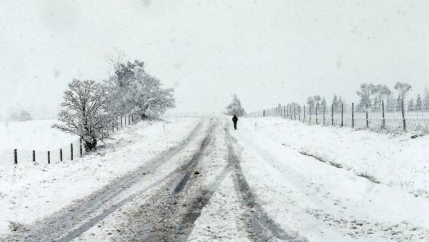 Heavy snow could be coming for the South Island again, with the chance of a flurry for Christchurch.