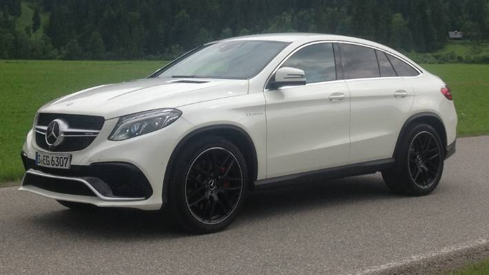 A New Mercedes Benz Gle Coupe