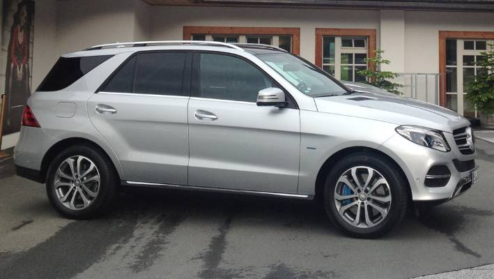 A New Mercedes Benz Gle Suv