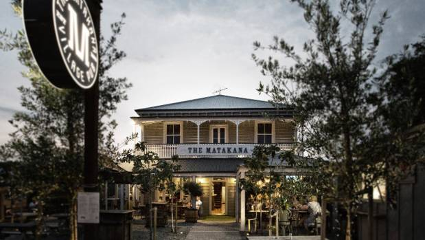 Food and decor at the Matakana is a perfect balance of tradition with contemporary flare.
