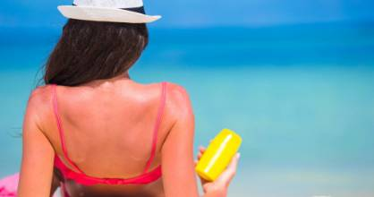 Don't toss your old sunblock - find other uses for it.
