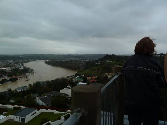 The Whanganui River has reached it highest level on record.