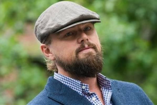 Thankfully, Leonardo DiCaprio's full-bearded look didn't last long.
