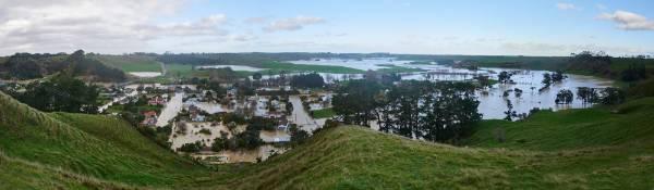 Waitotara Valley flooded.