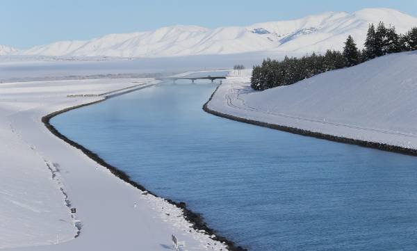 Pictured taken on the south side of Lake Pukaki.