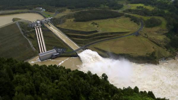 Patea hydroelectric Dam in Taranaki.