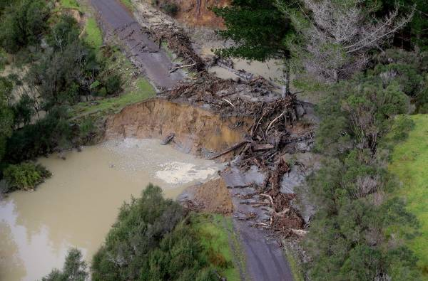 Severe flooding in the Waitotora Valley has cut dozens of roads.