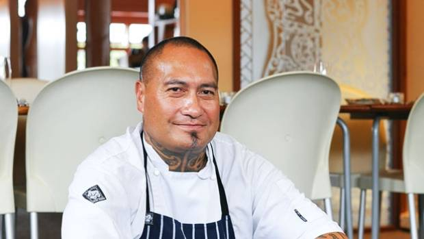 Chef-owner Jeremy Rameka of Pacifica, Napier