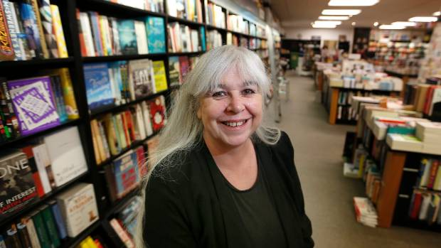 Unity Books staff member Jacqui Brokenshaw is thrilled the Willis St store has won the Bookseller of the Year.
