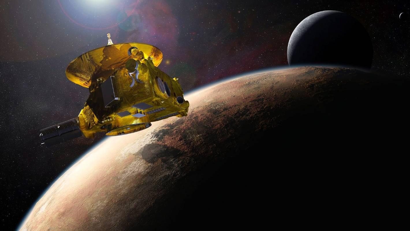 Nasa's New Horizons space probe finally within sight of Pluto