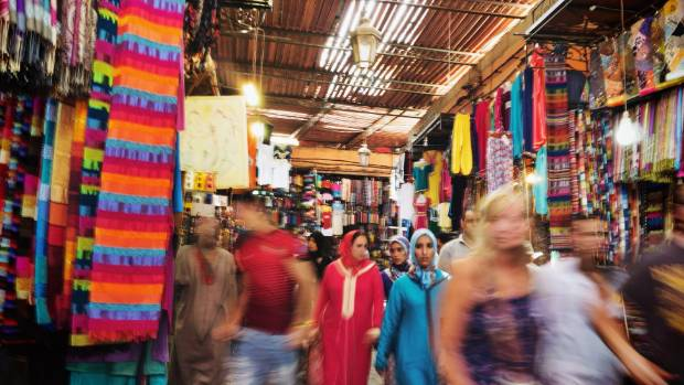 The souks of Marrakech in Morocco offer one of the most astonishing retail experiences in the world.