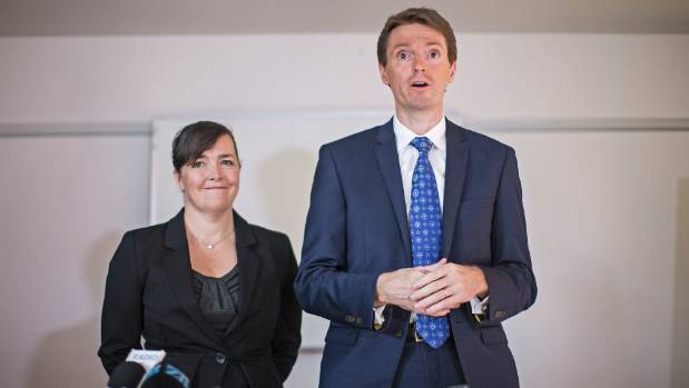 Colin Craig with his wife Helen.