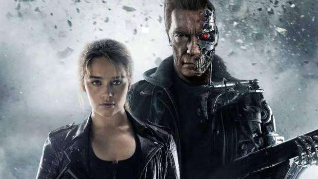 Game of Thrones star Emilia Clarke and Arnold Schwarzeegger star in Terminator: Genisys